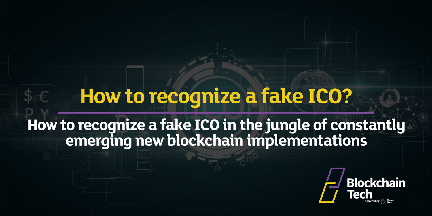 How to recognize a fake ICO?